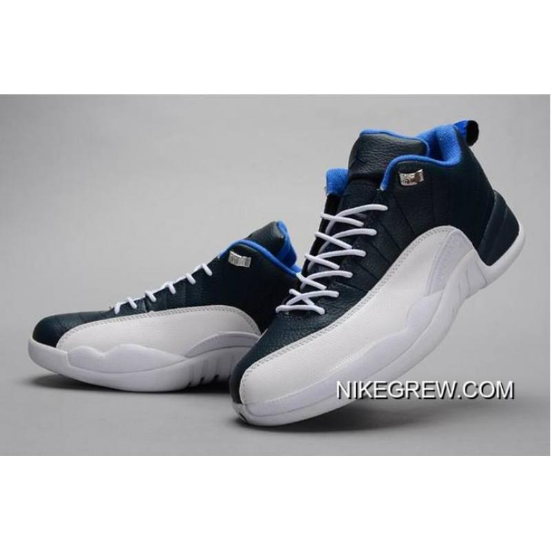 4c04a38e1c6b20 ... For Sale New Air Jordan 12 Low Obsidian White OG ...