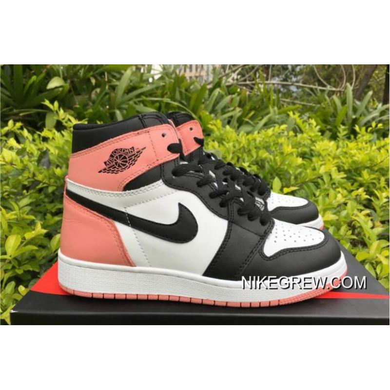 "new product eeb59 f4299 Women New Style Air Jordan 1 Retro High OG GS ""Rust Pink"""