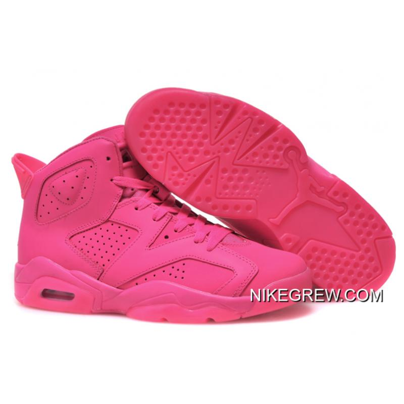 045fe30a75d Women Top Deals Air Jordan 6 GS All Pink ...