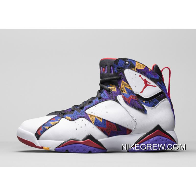 "d6861e79dc8e65 Women New Air Jordan 7 GS ""Sweater"" For Sale ..."