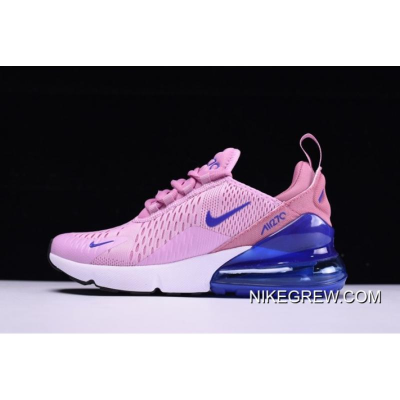 8618603cce53 Women WMNS Nike Air Max 270 Pink Royal Blue-White New Style ...
