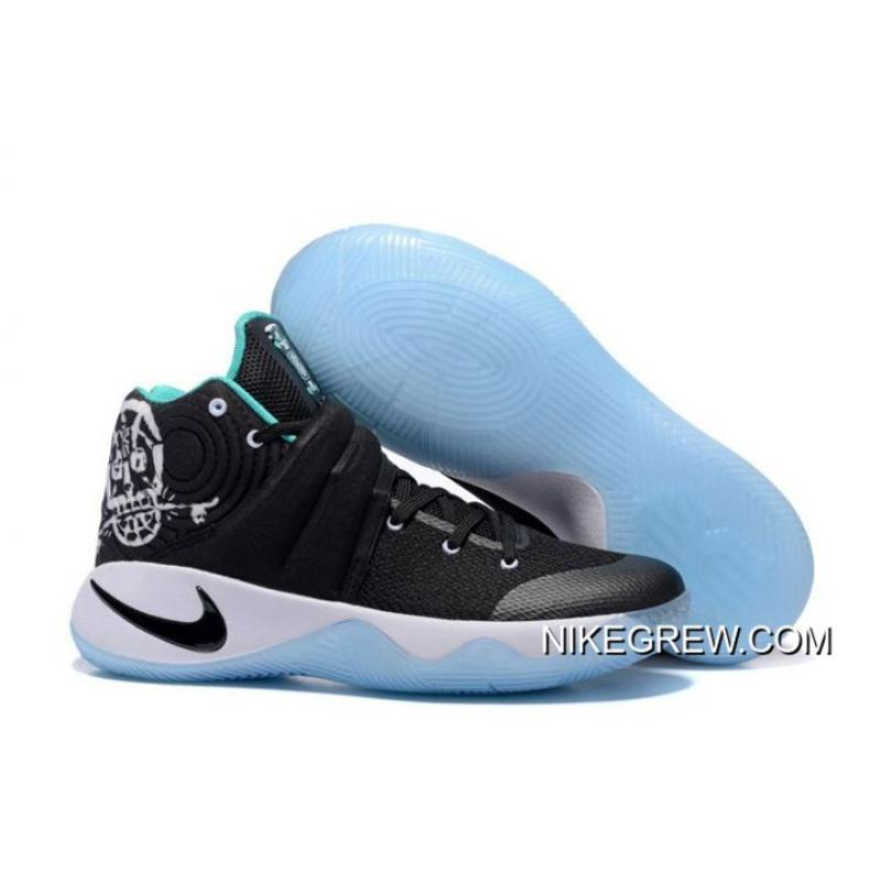 "new arrival bb1a3 46f0c New Release Nike Kyrie 2 ""Court Deck"" Black/Black-Hyper Jade-White"