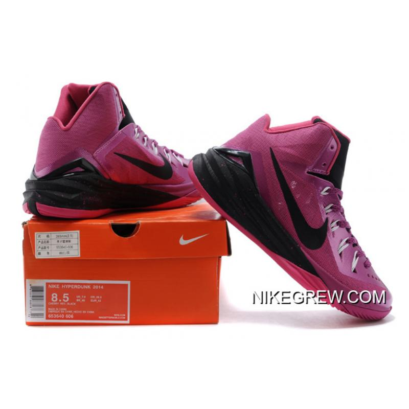 "cheap for discount 98274 4d939 ... Online Nike Hyperdunk 2014 ""Think Pink"" Pinkfire II Black-Hyper Pink-  ..."