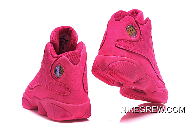 25eaf1f22f Women Super Deals New Air Jordan 13 GS All-Pink Shoes, Price: $87.10 ...